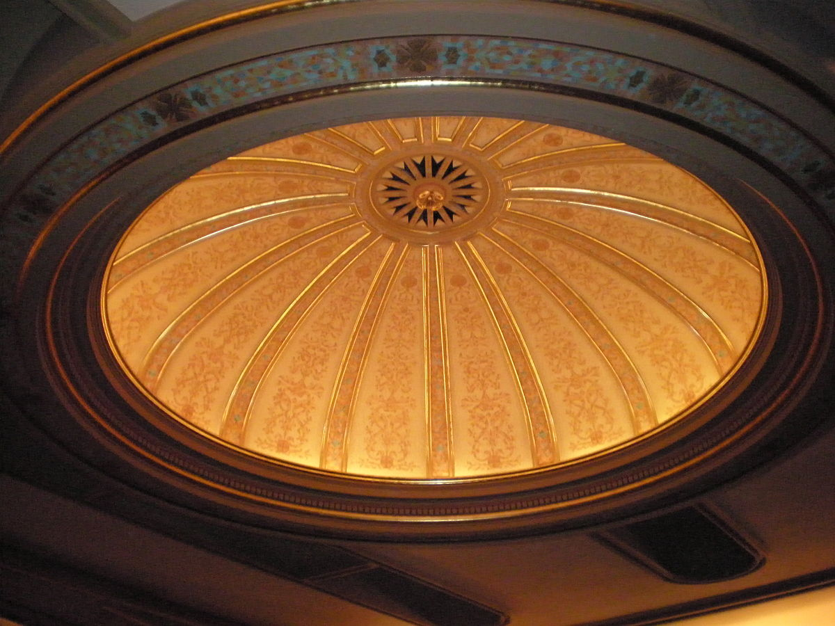 File Hawaii Theatre Ceiling Dome Jpg