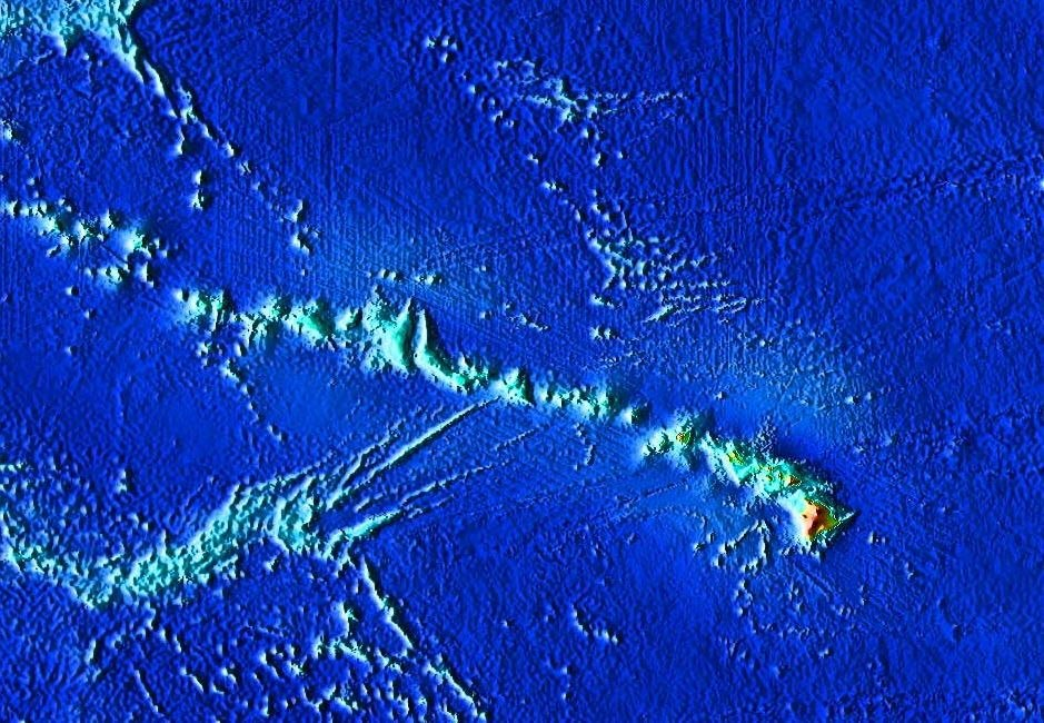 Hawaiian seamount chain