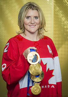 Hayley wickenheiser major achievements