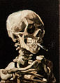 Head of a Skeleton with a Burning Cigarette - My Dream.jpg