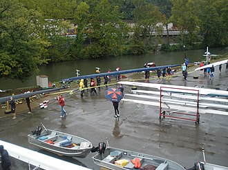 Head of the Ohio - The launch of the Head of the Ohio in 2011.