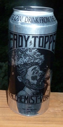 16 oz Heady Topper can