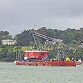 Heavy lifting dumb crane barge BD-6074 (48416723156).jpg
