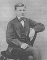 Heike Kamerlingh Onnes - 05 - Heike Kamerlingh Onnes sitting on a chair at the age of 17.png