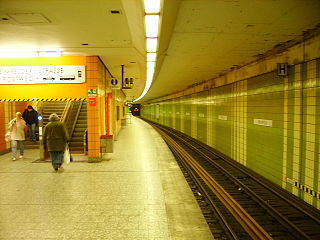 Heimfeld station railway station in Hamburg, Germany