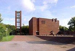 Iglesia del espíritu Santo, Lund (1967-1968), junto con Sten Samuelson }}