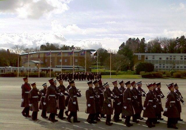 Helles Barracks Parade Ground - geograph.org.uk - 1192460