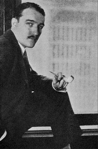 Henry de La Falaise - de La Falaise at his New York office in 1927