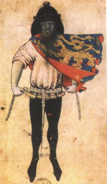 Herald Gelre of the Duke of Gueldres
