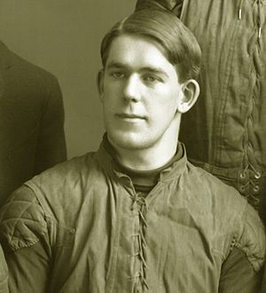 Herb Graver - Graver, from the 1903 Michigan Wolverines team photograph