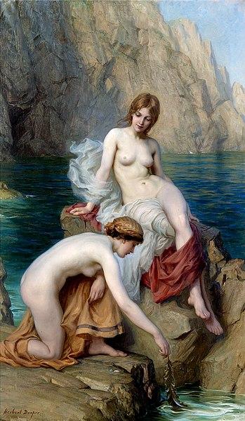 File:Herbert James Draper, By Summer Seas.jpg