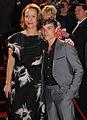 Hessischer Film- und Kinopreis 2012 - Claudia Michelsen und Sebastian Urzendowsky.jpg