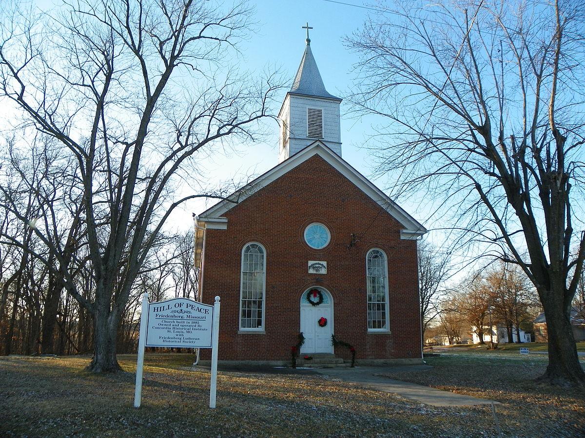 peace lutheran church friedenberg missouri wikipedia