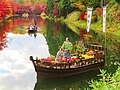 Hirosaki Castle chrysanthemum and autumn leaves festival 03.jpg
