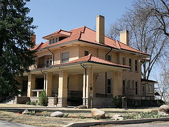 Roswell, New Mexico - The White family home, built in 1912, is now a museum.