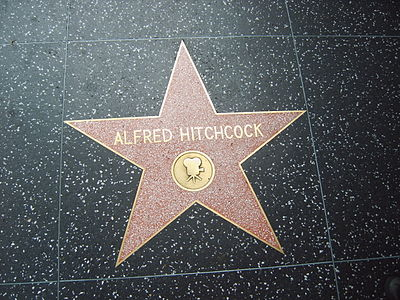 One of Hitchcock's stars on the Hollywood Walk of Fame Hitchcock walk of fame.jpg