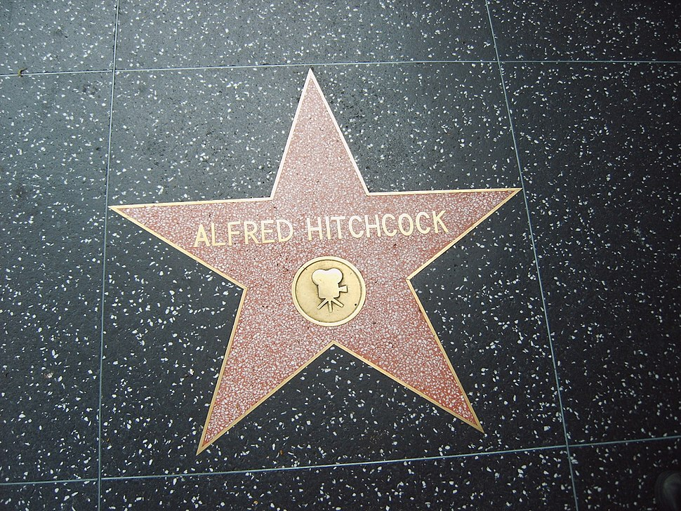 Hitchcock walk of fame