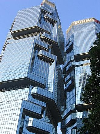 Alan Bond - Lippo Centre in Admiralty, Hong Kong Island, 1988. Bought from Alan Bond.