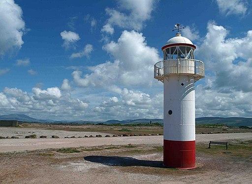 Hodbarrow lighthouse - geograph.org.uk - 1882695