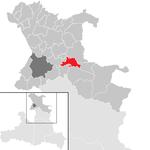 Hof bei Salzburg in the district SL.png