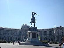 La Hofburg e la Heldenplatz