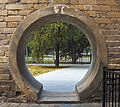 Hole in wall at Temple of Heaven Park, Beijing.jpg