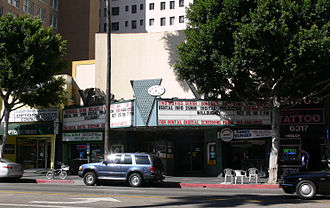 Innocence of Muslims - Vine Theater, Hollywood, California, where the single screening took place