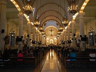 Holy Rosary Parish Church (Angeles) - Image: Holy Rosary Parish Churchjf 3953 07