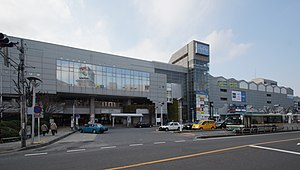 Hon-Kawagoe Station east 20160223.JPG