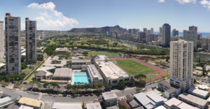 ʻIolani School - Image: Honolulu View