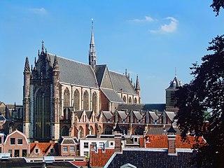 Hooglandse Kerk church in Leiden