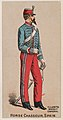 Horse Chasseur, Spain, from the Military Series (N224) issued by Kinney Tobacco Company to promote Sweet Caporal Cigarettes MET DPB874335.jpg