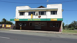 Thangool Town in Queensland, Australia