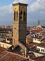 Hotel antica torre tornabuoni, terrazza, veduta s. trinita 03.JPG
