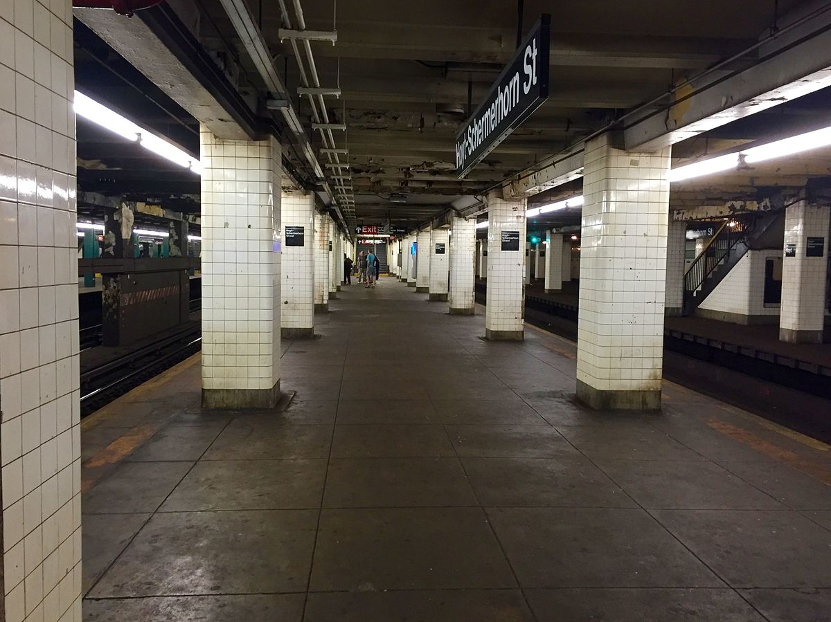 Hoyt Schermerhorn Streets New York City Subway Wikipedia