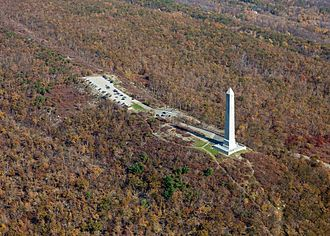 High Point (New Jersey) - Aerial photo of High Point State Park