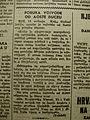 Hrvatski Narod br.97., 20.05.1941. Aimone Savojski odstupa s talijanske dužnosti.JPG