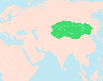 Domain and influence of Xiongnu under Modu Shanyu