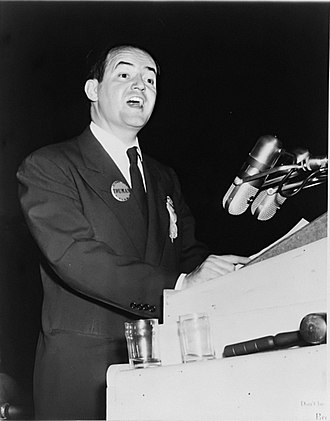 Hubert Humphrey - Humphrey at the 1948 Democratic National Convention in Philadelphia.