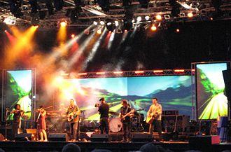 Hubert von Goisern - Hubert von Goisern performing in Passau, Germany, in June 2007