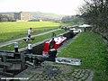 Huddersfield Canal near Linthwaite - geograph.org.uk - 2210.jpg