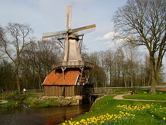 Hüven - Windmill and watermill
