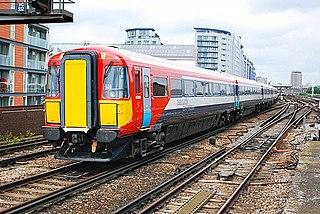 Third rail Method of providing electric power to a railway train