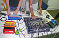Humans! Live electronica feat. TI Talking Teacher, Speak & Spell, Game Boy, etc. (photo by Procsilas Moscas).jpg