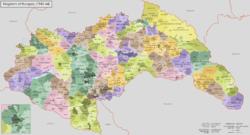 Hungary 1941-44 Administrative Map