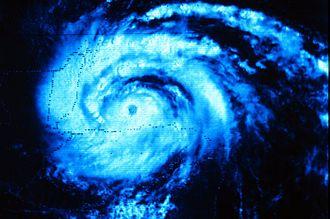 Hurricane Greta–Olivia - Image of Hurricane Greta north of Honduras