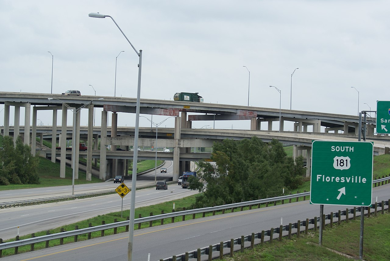 File I 37 I 410 Interchange San Antonio Texas Jpg