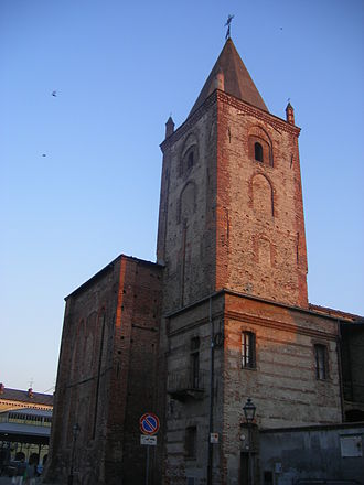 Cuneo - Church of St. Francis.