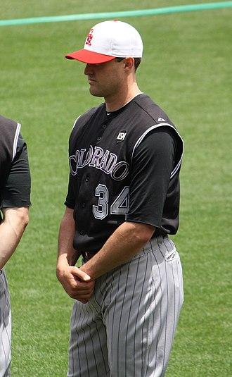 Matt Belisle - Belisle during his tenure with the Colorado Rockies in 2010