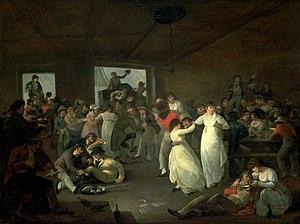 Julius Caesar Ibbetson - Sailors Carousing (1802)